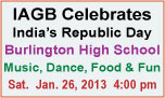 IAGB To Celebrate India's 64th Republic Day