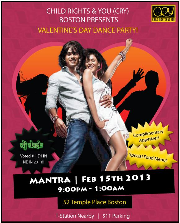 DancE YouR HearT OuT – Valentine's Party!