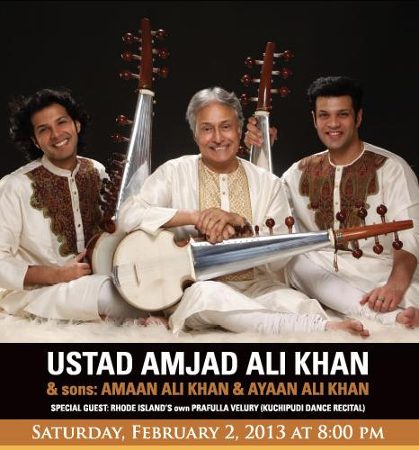 Ustad Amjad Ali Khan To Perform In RI