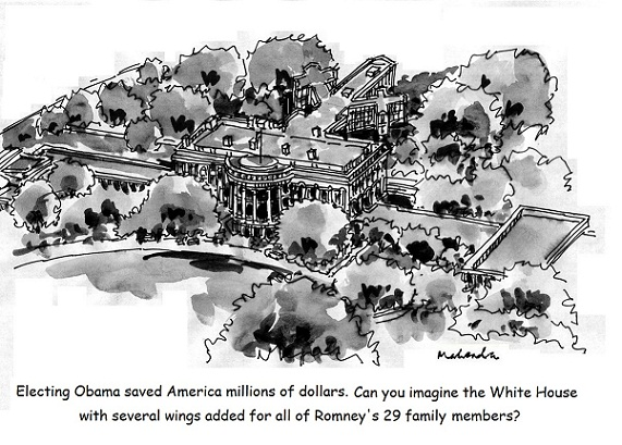 Cartoon: Obama Victory!