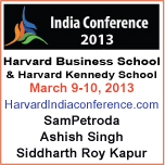 Harvard India Conference 2013