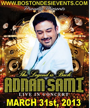 Adnan Sami Is Back After 7 Years. Performing This Weekend!