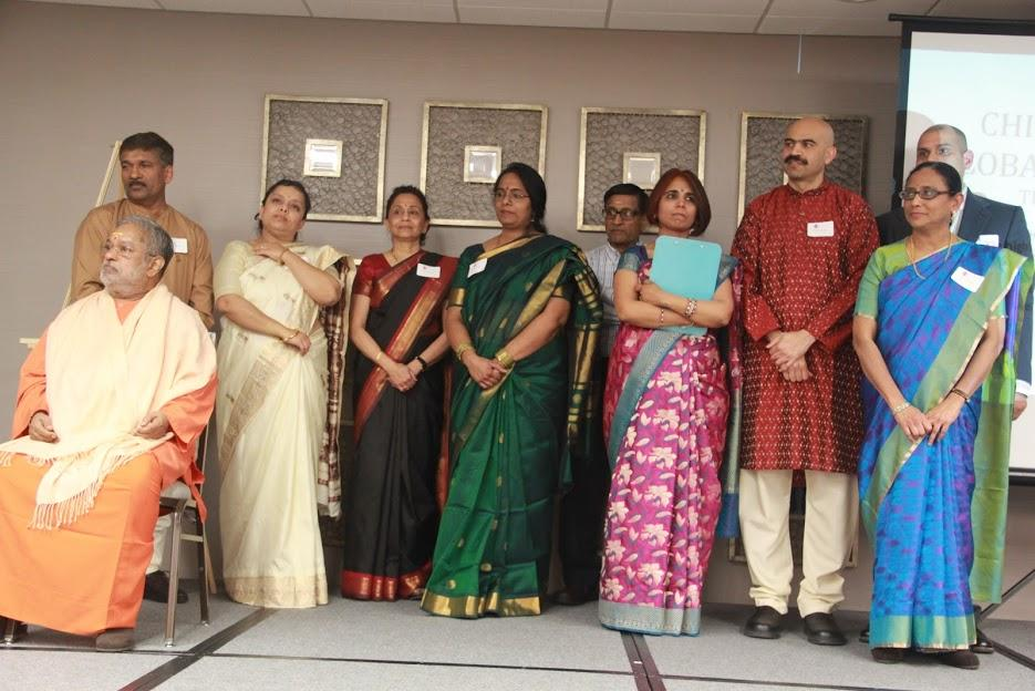 Chinmaya Mission CT Organizes Geeta Jnana Yajna