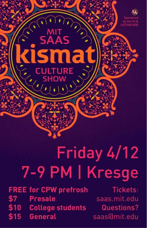 Kismat: MIT SAAS Culture Show