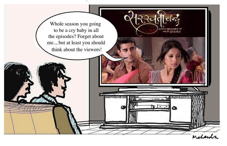 Cartoon: Saraswatichandra