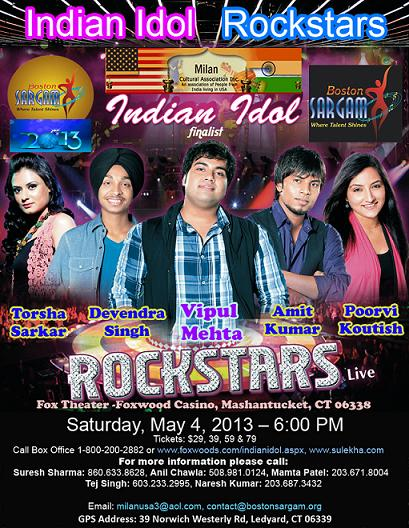ROCKSTARS Of Indian Idol - Live In Concert