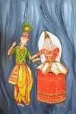 Java Joshi Displays 'Folks Dances Of India' At The Lexington Open Art Studio