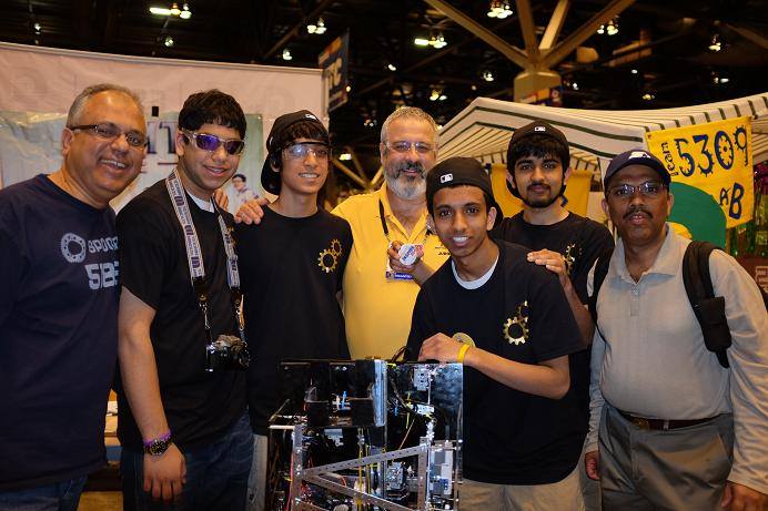 Local Robotics Team Wins Honors At First Technical Challenge World Championships