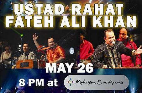 Rahat Fateh Ali Khan Comes To Mohegan Sun Arena, CT