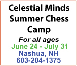 Celestial Minds - Chess Summer Camp