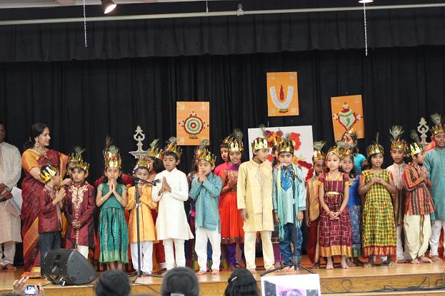 Bala Gokulam School Of The Hindu Temple Of NH Celebrates Second Annual Day