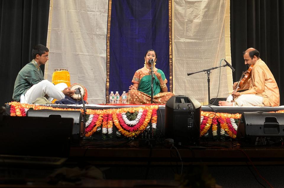 Music Arangetram: Sachita And Chirag Ganesa