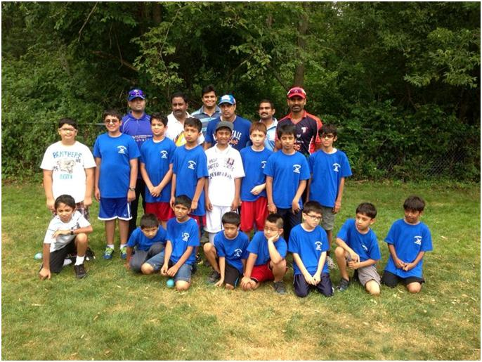 Robin Singh, US Cricket Coach Visits Youth Cricket Clinic In Shrewsbury