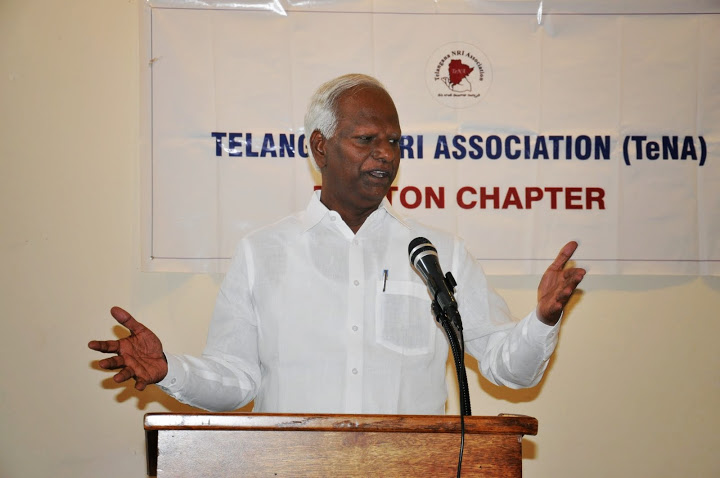 Kadiyam Srihari Meets With TeNA Boston Chapter