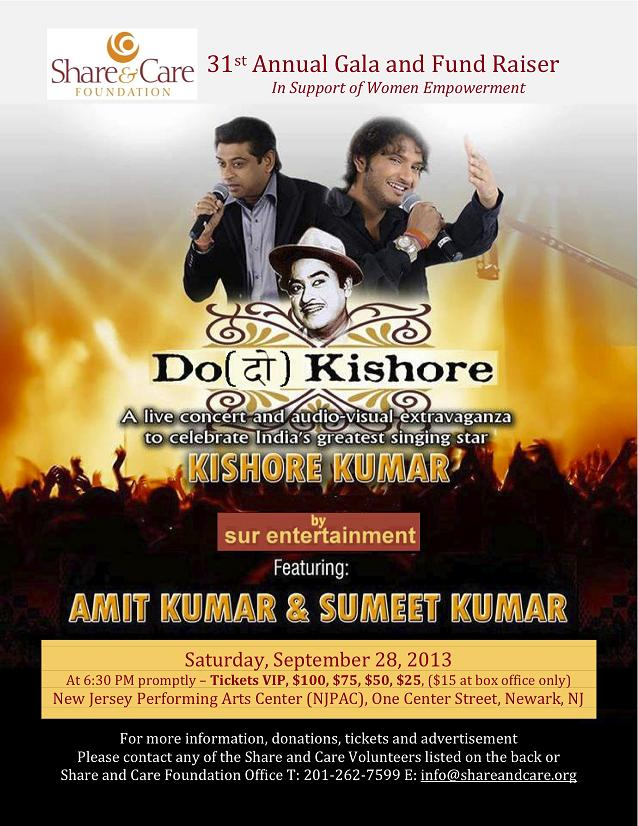 Share And Care Presents Do Kishore