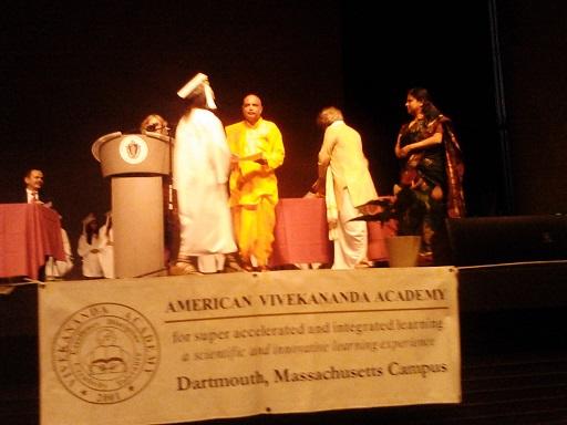 American Vivekananda Academy Students Graduate