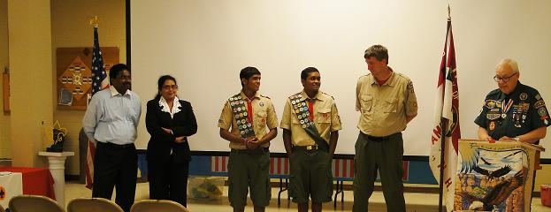 Rishi And Roshan Tadi Of Boy Scout Troop 424 Attain Eagle Rank