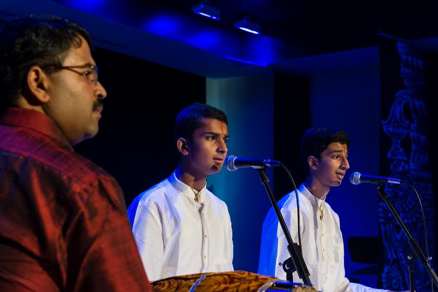 Vocal Arangetram: Aneesh Anand And Giridhar Anand