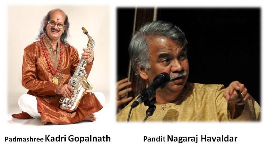 A Musical Feast At NEKK's Ganeshotsava Featuring Kadri Gopalnath And Nagaraj Havaldar
