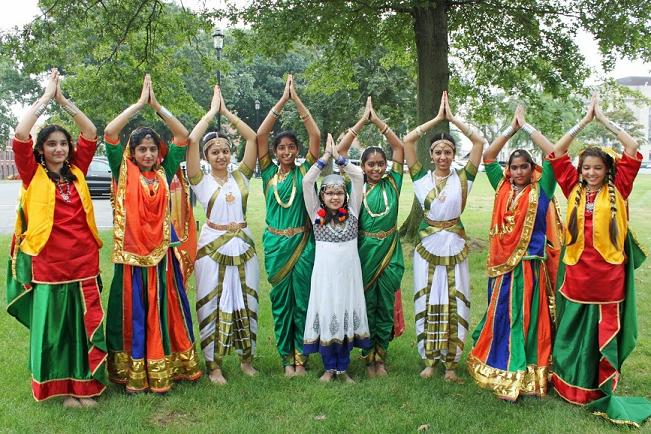 School Of Indian Cultural Heritage Performs For Independence Day At CT State Capitol
