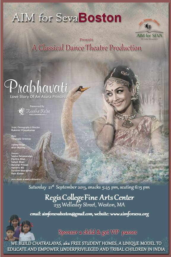 Prabhavati: A Dance-Drama To Support AIM For Seva