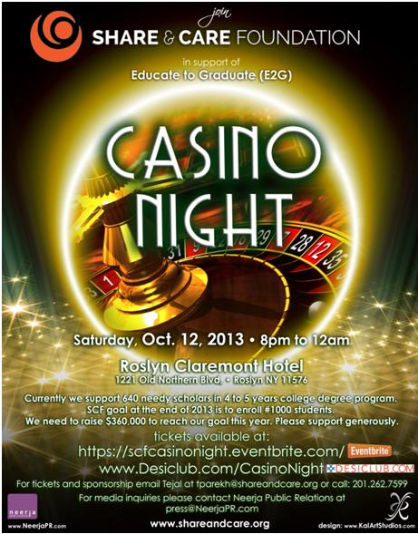 Casino Night For A Cause