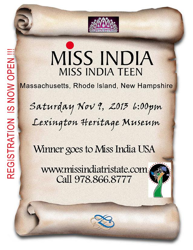 Miss India New England - 2013