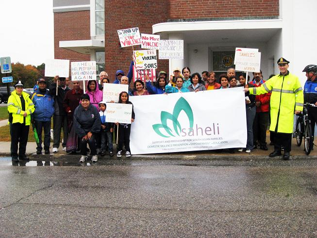 Saheli Commemorates Domestic Violence Awareness Month With Annual 5K Walk
