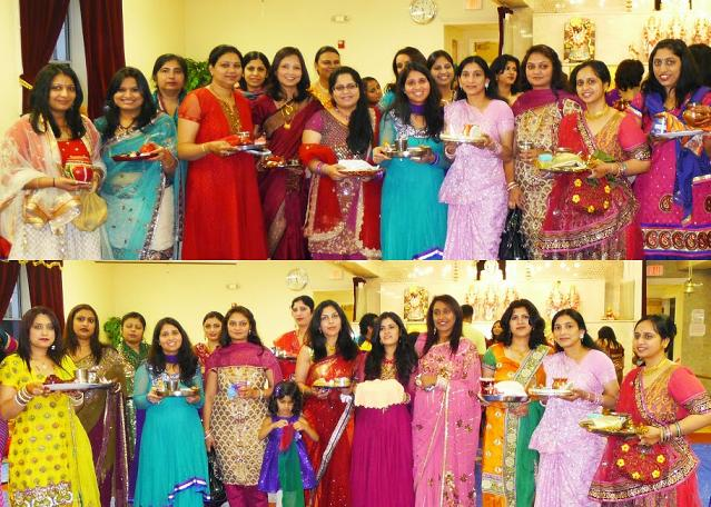 Karwa Chauth 2013: The Zesty Festivities In A House Full SATSANG Center