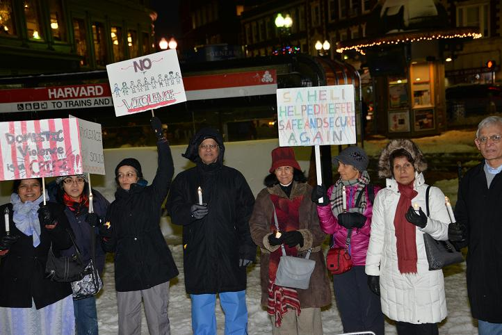 Harvard Square Vigil Commemorates One Year Anniversary Of Nirbhaya