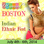UCarnival Boston 2014 - Indian Ethnic Fashion Fair
