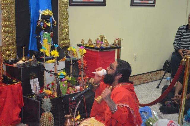 Sri Shani Dev Prem Pratishtha Celebration At Sree Vijaya Durga Kali Temple