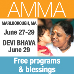 Amma Visits New England For 28th US Tour