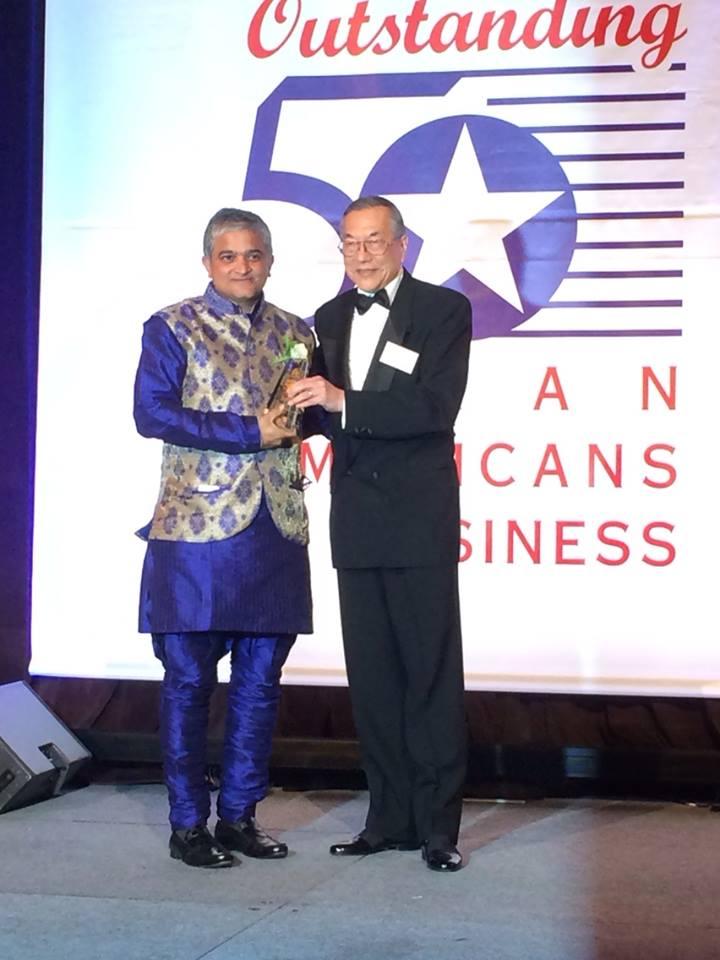Prashanth Palakurthi Named Outstanding Asian American Business Man