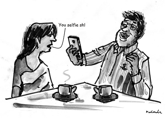 Cartoon: You Selfie Sh!