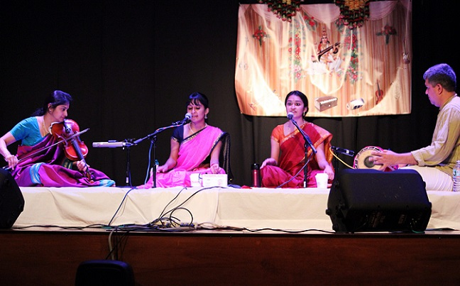 An Evening Of Enchanting Music By The Mangalat Sisters, Amritha And Anjana