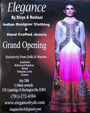 Grand Opening Of Elegance By Divya And Roshani