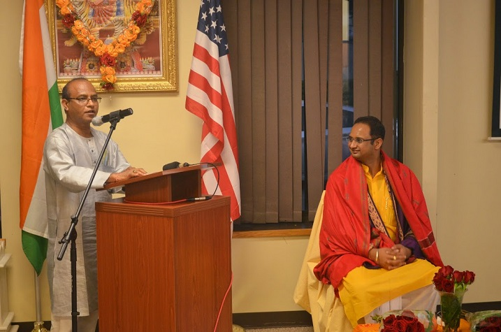 On 'Human Excellence' Dr. Chinmay Pandya Strike A Chord With Boston Audience