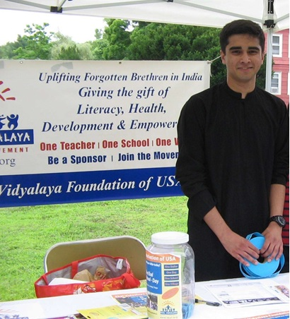Kavin Krishnan Raises Funds For Ekal