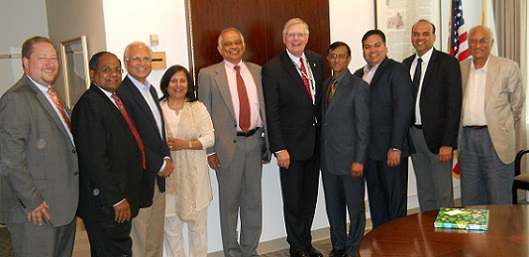 Indian Consul General Dnyaneshwar Mulay Meets Elected Officials In Connecticut And Intreracts With Indian Community