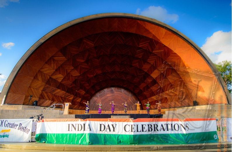 India Day At Hatch Shell - A Great Triumph !