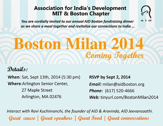 AID Boston Hosts Milan: Its Annual Fundraising Dinner