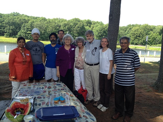 Various Interfaith Groups Come Together Over Water Melon