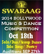 Swaraag Auditions - Register Today!