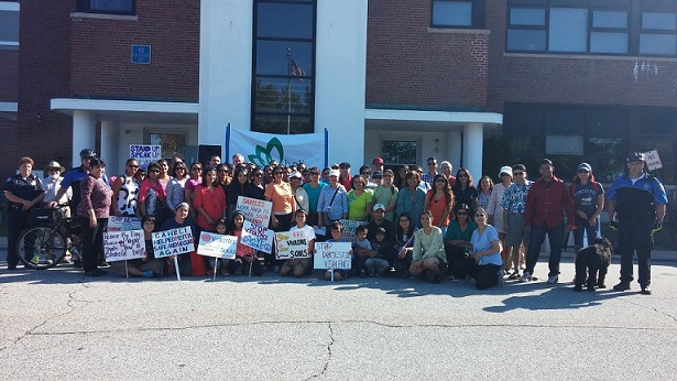 Over 80 People Walk With Saheli To Prevent Violence Against Women