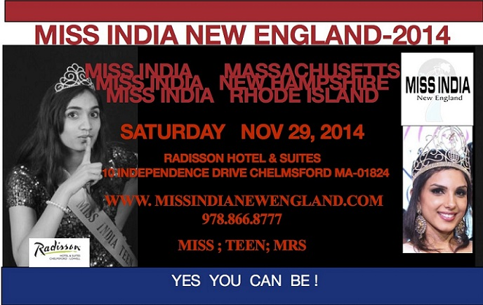 Miss India New England-2014