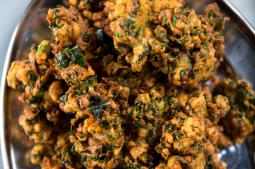 Recipes - Spicy Kale Pakoras And More