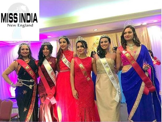 Ruchika Arora Hosts New England-2014 Pageant