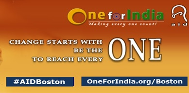 AID's Year End Annual Fundraiser - One For India