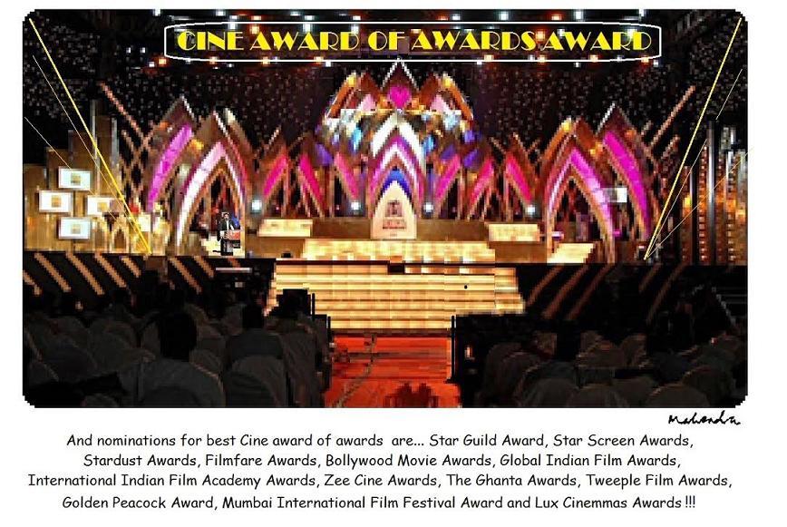 Cartoon: Cine Award Of Awards Award